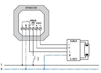 sphinx380可以外接控制设备激活楼梯灯开关